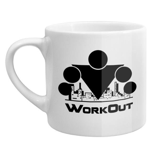 Кофейная чашка Workout