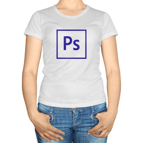 Женская футболка PS