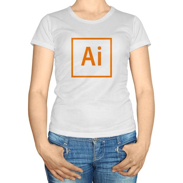Женская футболка Ai