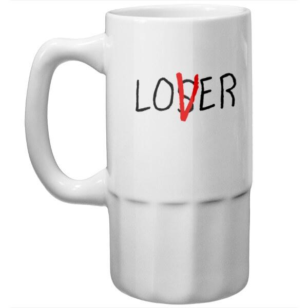 Пивная кружка Loser Lover