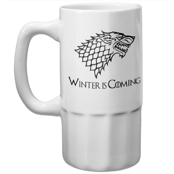 Пивная кружка Winter is coming