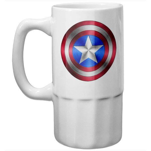 Пивная кружка Капитан Америка