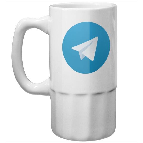 Пивная кружка Телеграм
