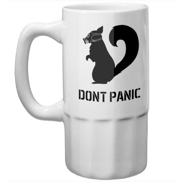 Пивная кружка Без паники