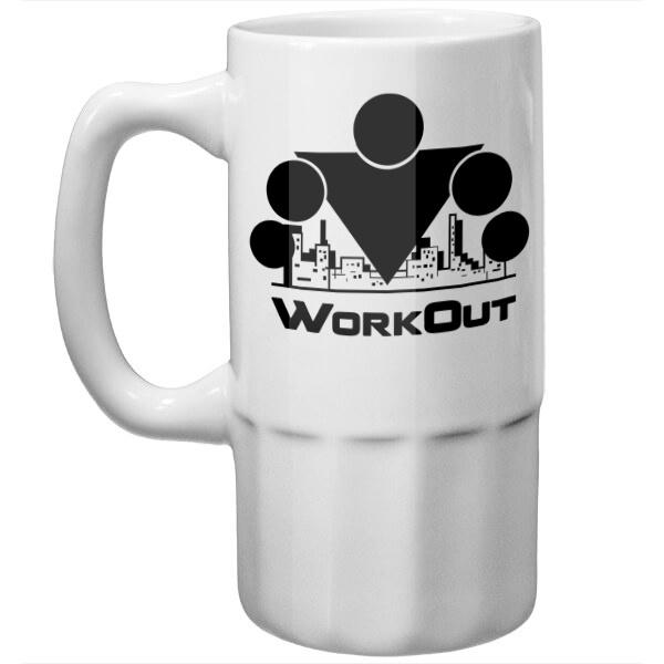 Пивная кружка Workout