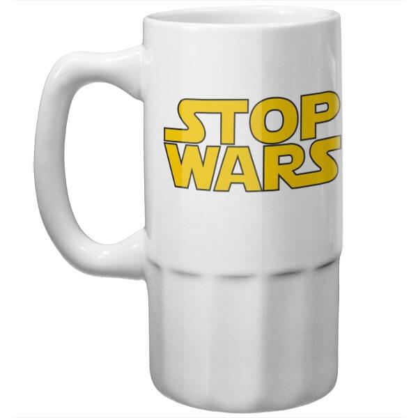Пивная кружка Stop Wars