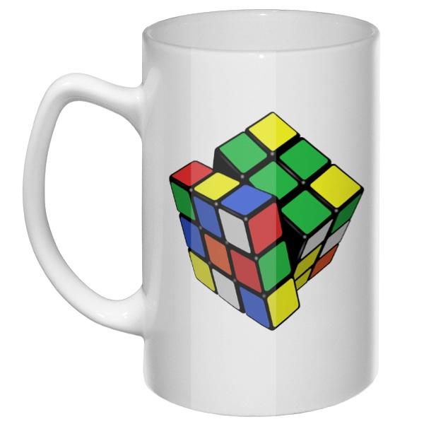 Большая кружка Кубик Рубика