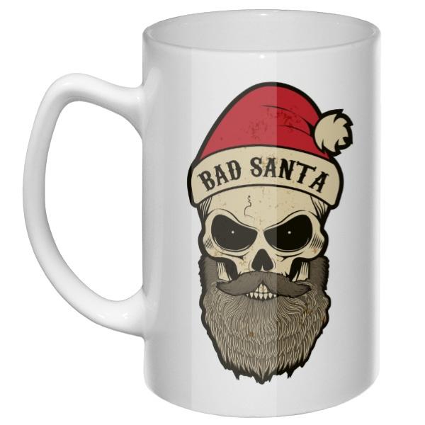 Большая кружка Bad Santa