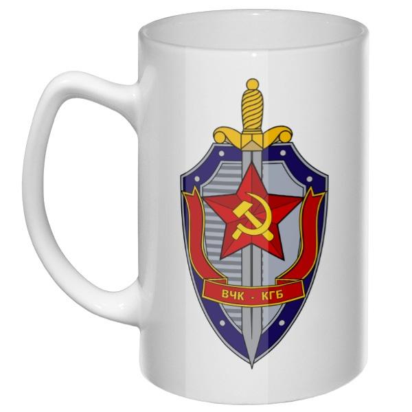 Большая кружка ВЧК КГБ