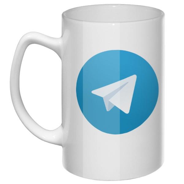 Большая кружка Телеграм