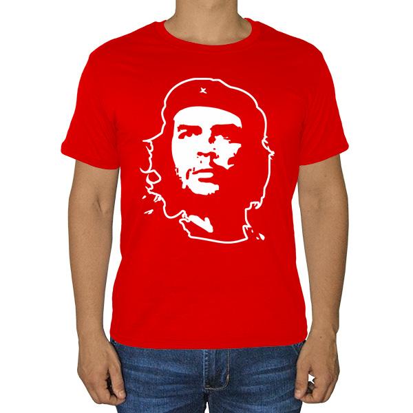 Футболка Че Гевара, цвет красный