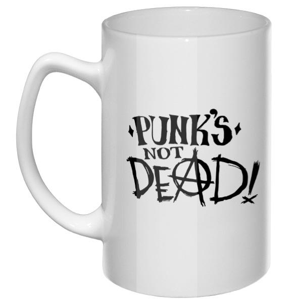 Большая кружка Punk is not dead