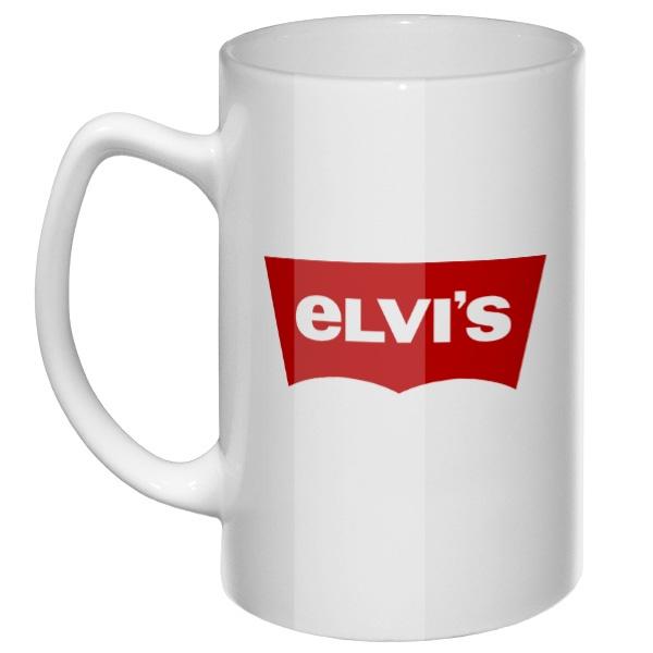 Большая кружка Elvis (Levis)