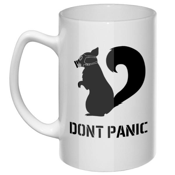 Большая кружка Do not Panic