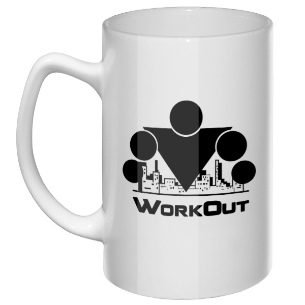 Большая кружка Workout
