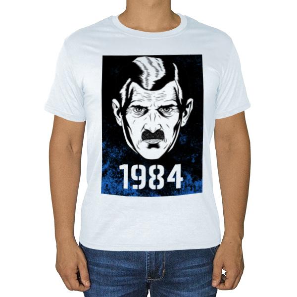 Футболка 1984 (Большой брат), цвет белый