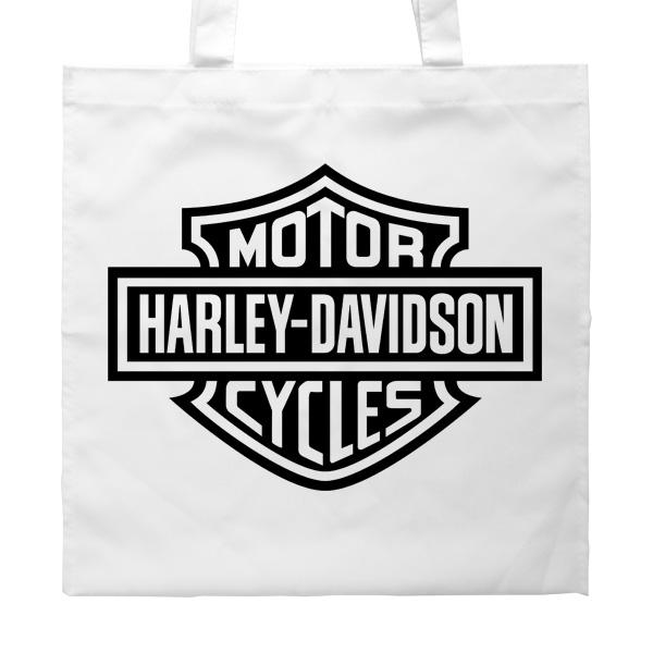 Сумка белая Harley Davidson