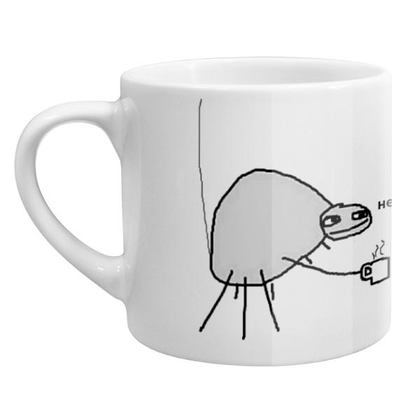 Кофейная чашка Папей гавна