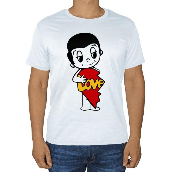 Мужская футболка Love is... (парная)