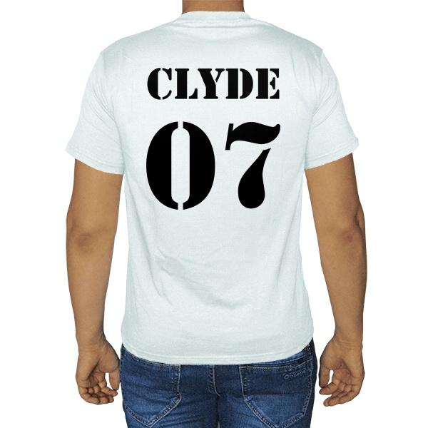 Мужская футболка Бонни и Клайд (Bonnie & Clyde, парная)