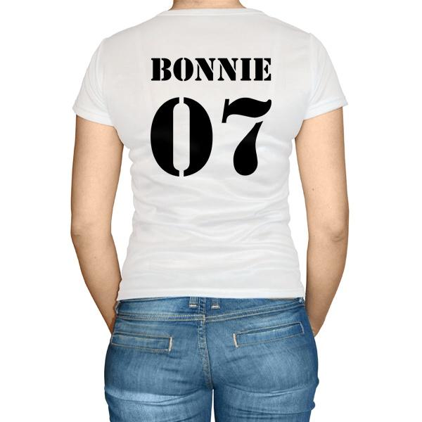 Женская футболка Бонни и Клайд (Bonnie & Clyde, парная)