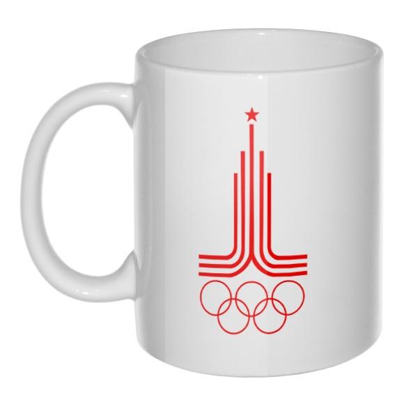 Кружка Эмблема Олимпиады 1980