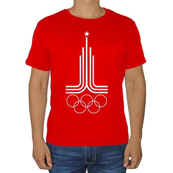 Футболка Эмблема Олимпиады 1980