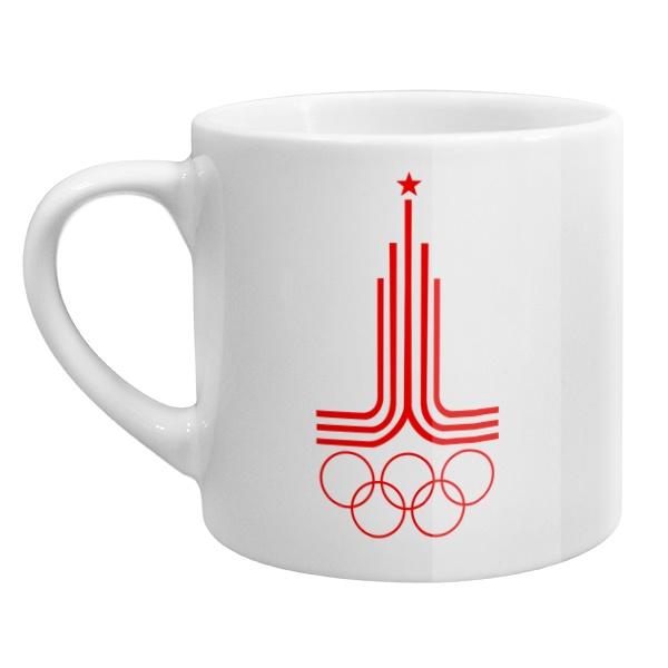 Кофейная чашка Эмблема Олимпиады 1980