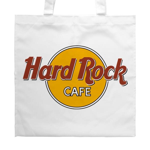 Белая сумка Hard rock cafe