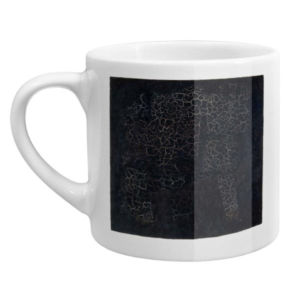 Кофейная чашка Черный квадрат