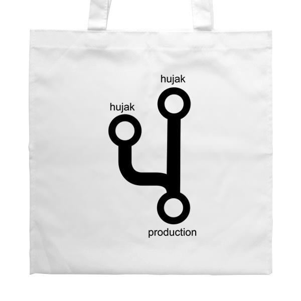 Белая сумка Hujak, hujak и в production