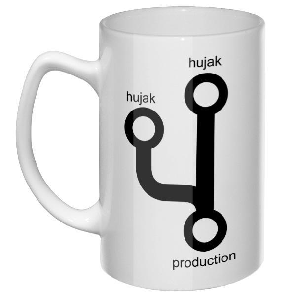 Большая кружка Hujak, hujak и в production