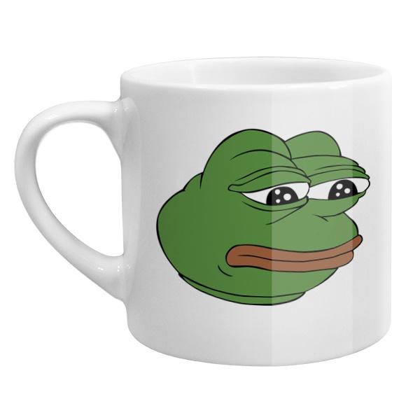Кофейная чашка Pepe the frog