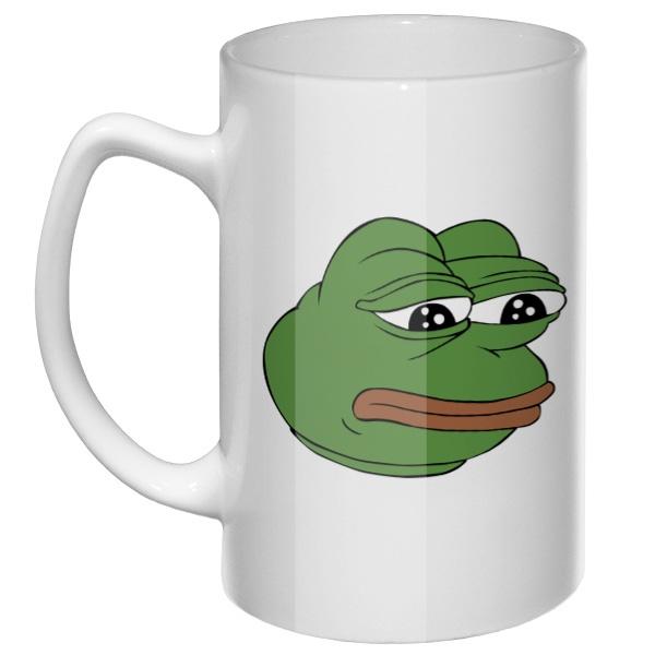 Большая кружка Pepe the frog