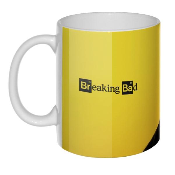 Breaking Bad, 3D-кружка , цвет белый