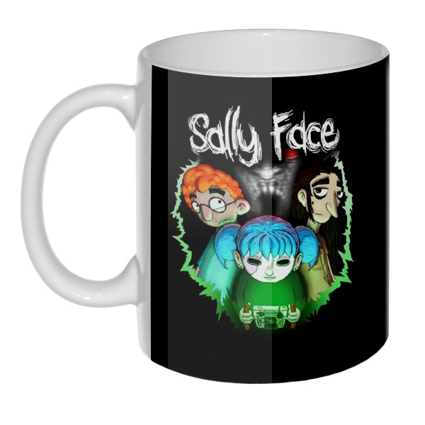 Sally Face (Салли фейс), 3D-кружка