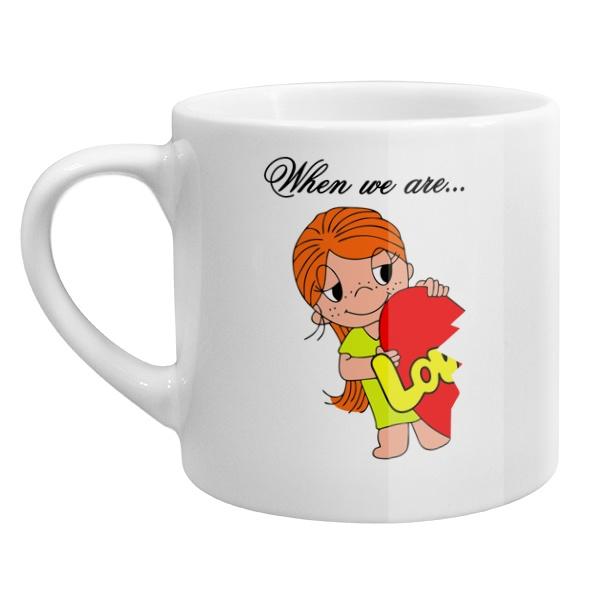 Кофейная чашка Love is...