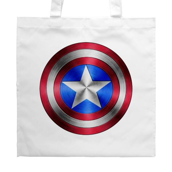 Сумка белая Капитан Америка