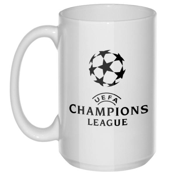 UEFA Champions League, большая кружка с круглой ручкой