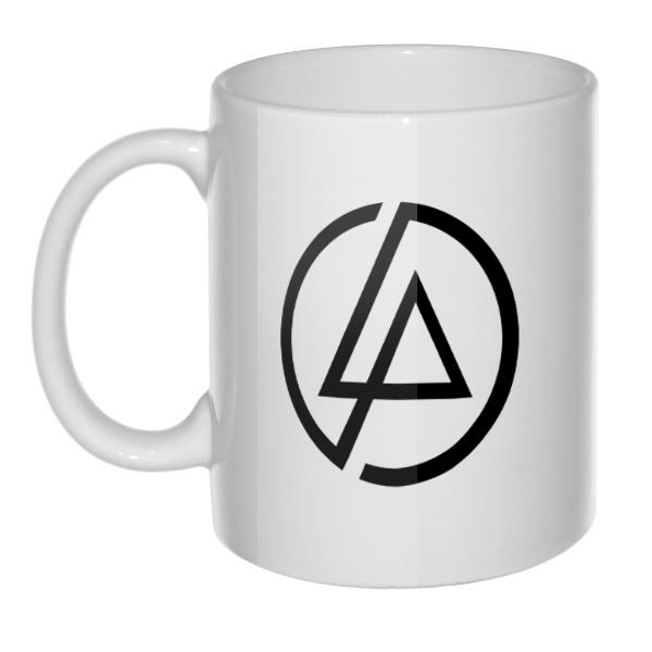 Кружка белая Linkin Park, цвет белый
