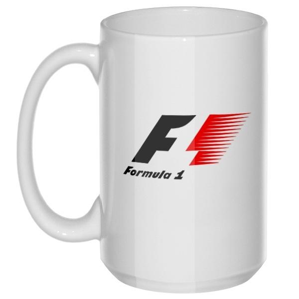 F1, большая кружка с круглой ручкой