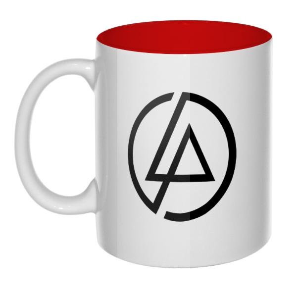 Кружка Linkin Park цветная внутри
