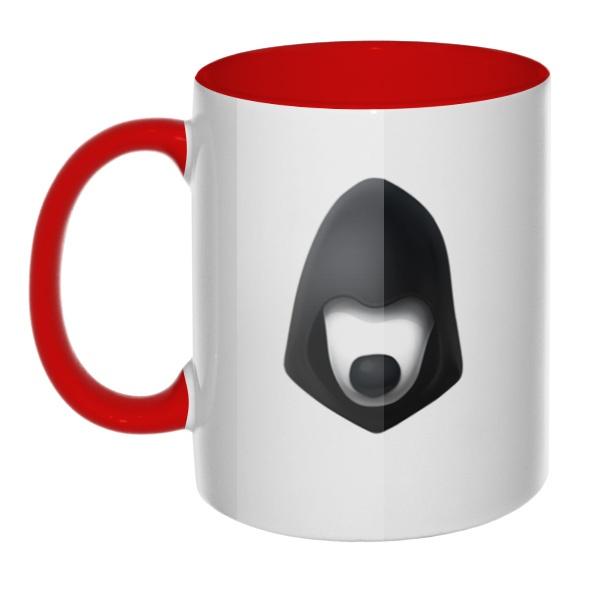 Логотип Цифрового сопротивления, кружка цветная внутри и ручка