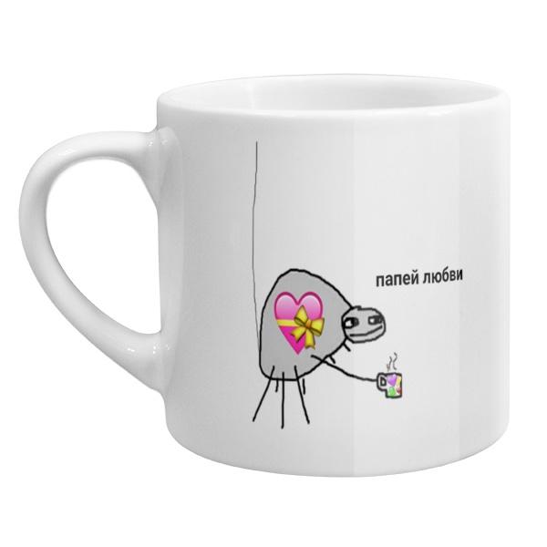 Кофейная чашка Папей любви