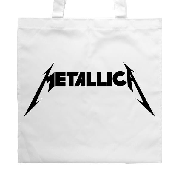 Сумка белая Metallica