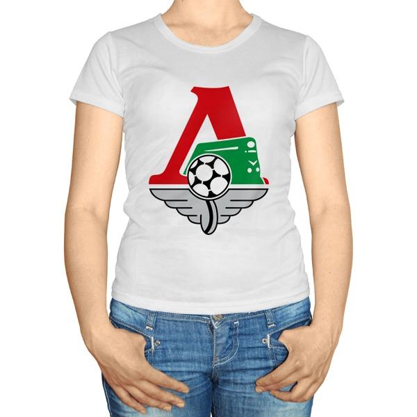 Женская футболка ФК Локомотив Москва
