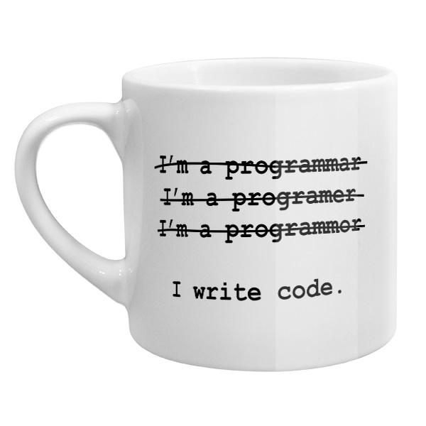 Кофейная чашка Я программист