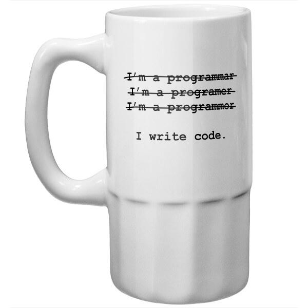 Пивная кружка Я программист