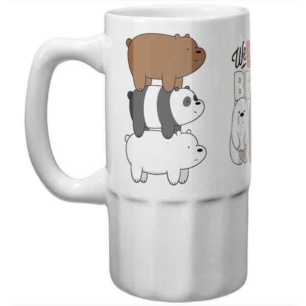 Пивная кружка Вся правда о медведях
