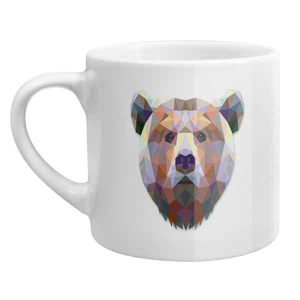 Кофейная чашка Русский медведь
